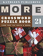 Crossword Puzzles Large Print: crossword gifts - More 50 Large Print Crosswords Puzzles to Keep you Entertained for Hours...