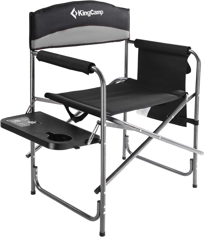 KingCamp Camping Chair Heavy latest Folding Director Oversiz Max 45% OFF Duty