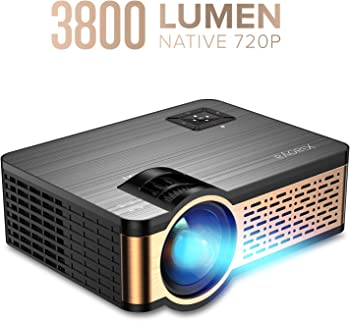Xiaoya W5 3800-Lumens 720P LCD Portable Projector