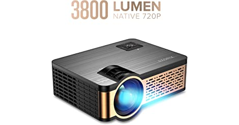 Xiaoya W5 3800-Lumens 720P LCD Portable Projector only $63.99