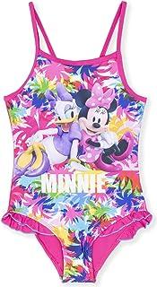 Disney - Bañador Traje de baño de una Pieza Minnie Mouse