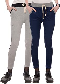 Narsingha Dreams Women's Slim Fit Track Pant Pack of 2