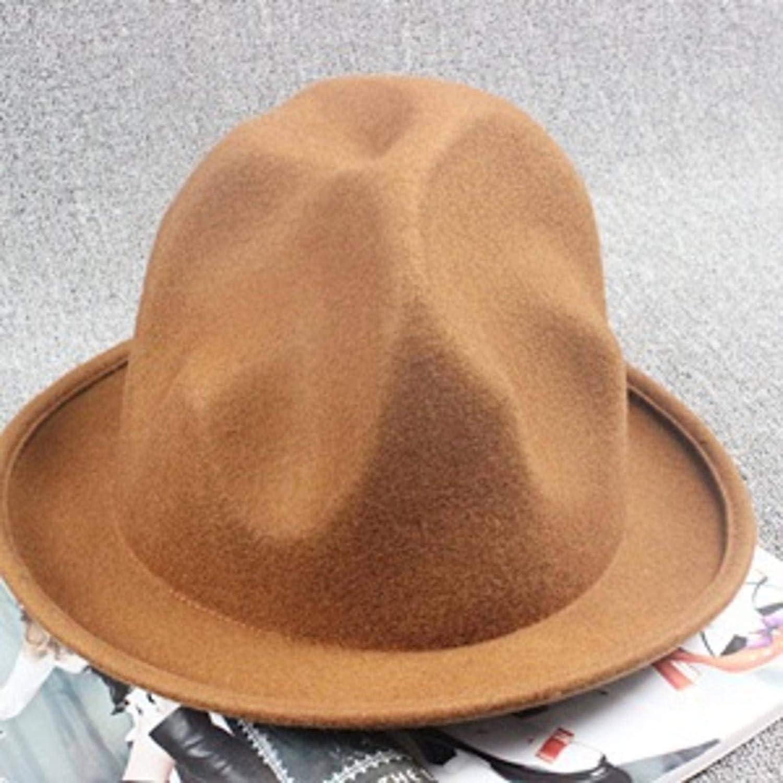 SANDA 100% Wool Women Men Vivianwestwood Fedora Hat Mountain Hat Pharrell Steampunk Hat Millinery Magician Buffalo Top Hat