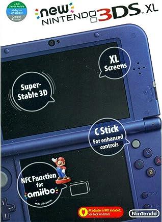 NINTENDO NEW 3DS XL BLUE (NTSC)