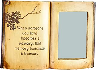Manual Woodworkers & Weavers Book Photo Frame, Someone You Love Memorial