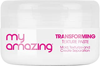 My Amazing Transforming Texture Paste with Light-to-Medium Hold for Short To Medium Hair, 2.65 oz. - Professional Molding Cream for Women and Men to Define, and Texturize Hair - Hair Styling Products