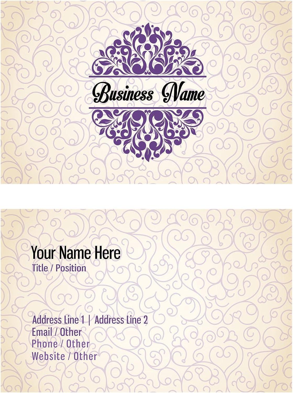 Individuelle Visiting Cards Entwerfen Sie Ihre eigene personifizierte Visitenkarte Vorder-und Rückseite B01DM0Y4BK | Kostengünstiger