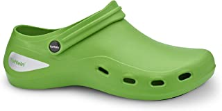 Toffeln AktivKlog Clogs – Lightweight, Comfortable, Breathable, Slip Resistant, Theatre Clogs - Shock Absorbing Anti-Stati...