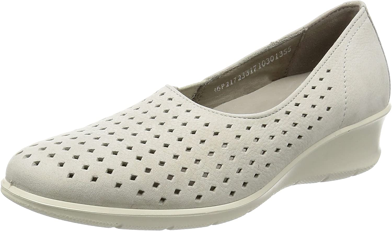 ECCO shoes Women's Felicia Perf Slip on, Gravel, 42 EU 11-11.5 M US