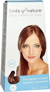 Tints of Nature, Permanent Color, Natural Dark Blonde, 6N, 4.4 fl oz (130 ml)
