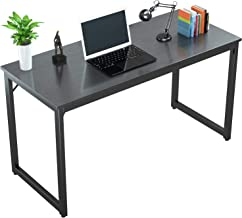 """Foxemart Computer Desk 47"""" Modern Sturdy Office Desk PC Laptop Notebook Study Writing Table for Home Office Workstation, B..."""