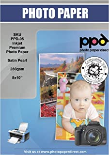 PPD 8x 10Super premium papel fotográfico satinado 280g