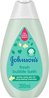 JOHNSON'S, Bath, Fresh Bubble Bath, 300ml