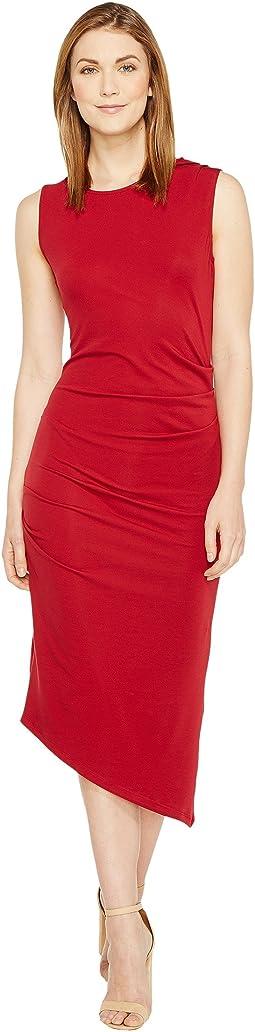 Kaprice Sleeveless Side Ruched Dress