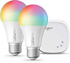 Sengled Smart LED Multicolor A19 Starter Kit, 60W Equivalent, 2 Smart Light Bulbs & Hub, RGBW Color and Tunable White 2000...