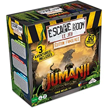 RIVIERA GAMES Escape Room – El Juego – Edición Familiar Jumanji de ...