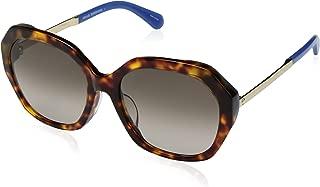 Kate Spade Women's Kaysie/f/s Oval Sunglasses, HAV Blue, 56 mm-KAYSIE/F/S