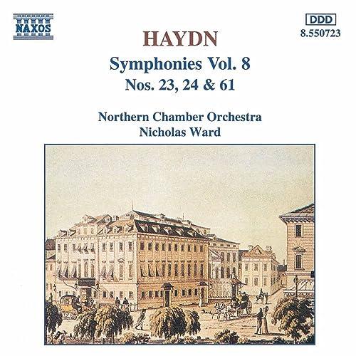 Haydn: Symphonies, Vol. 8 (Nos. 23, 24, 61)