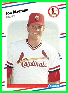 1988 Fleer #40 Joe Magrane RC st. louis cardinals ROOKIE MLB Network