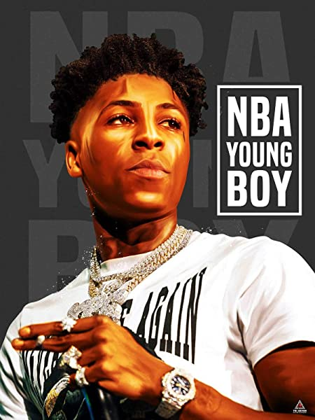777 Tri Seven Entertainment NBA YoungBoy Poster Never Broke Again Wall Art Print 18x24