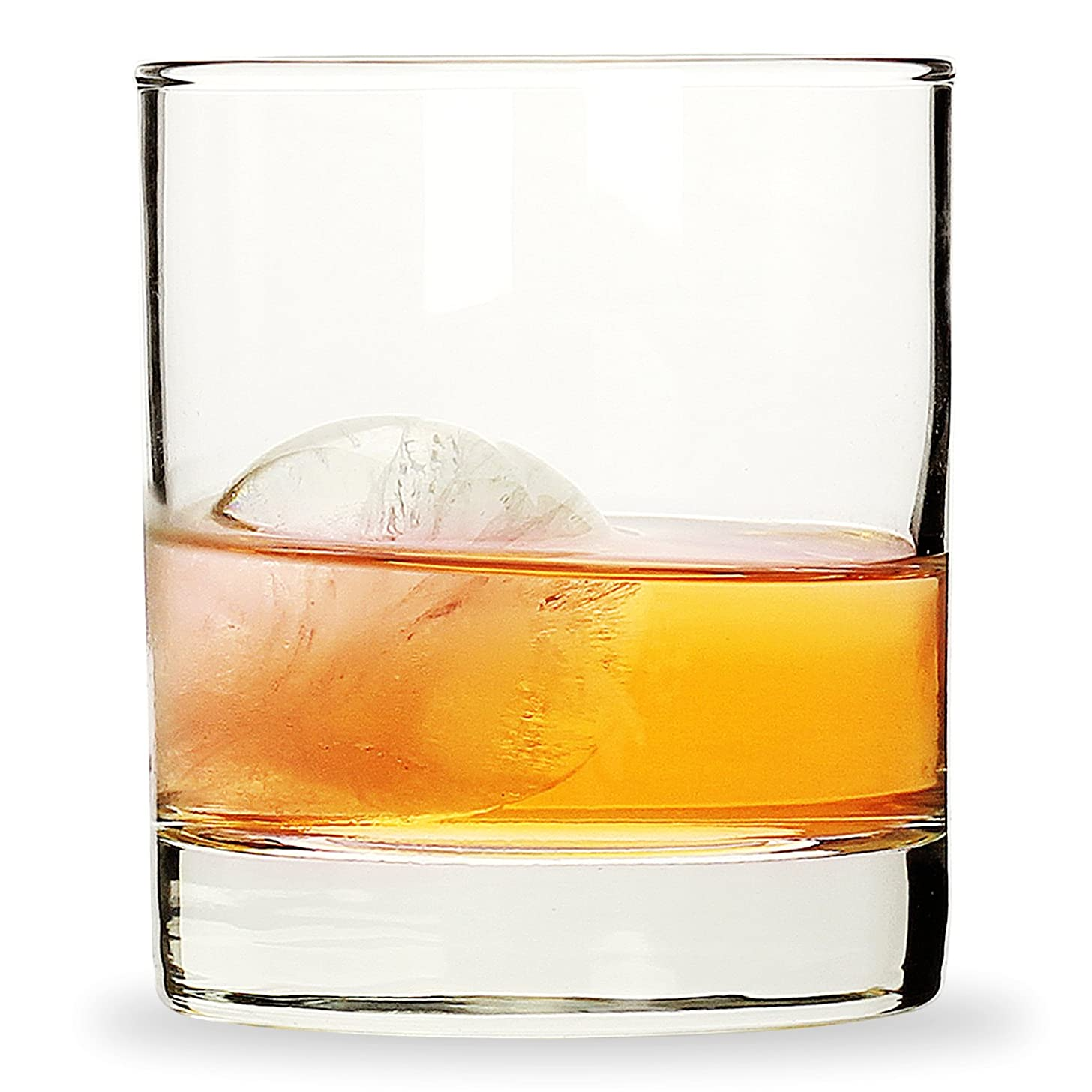 Whiskey Glasses 11 ounces Short Glasses,Set of 6 Rocks Style Glassware and Old Fashioned Drinking Glasses (11 ounces)