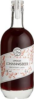 Leipziger Johannisbeer Fruchtsaftlikör | fruchtig aromatisch | 21% vol | LSM Leipziger Spirituosen Manufaktur 1 x 0.5 l