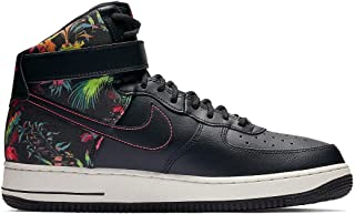 Men's Air Force 1 High '07 LV8 Floral Print Black/Red/White CI2304-001