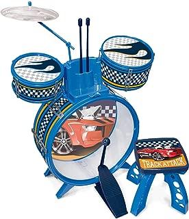 Bateria Infantil Hot Wheels Fun