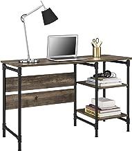 Ameriwood Home Carter Pedestal Desk, Rustic