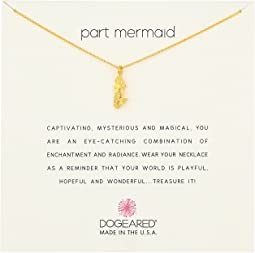 Dogeared Part Mermaid Enchanted Mermaid Necklace
