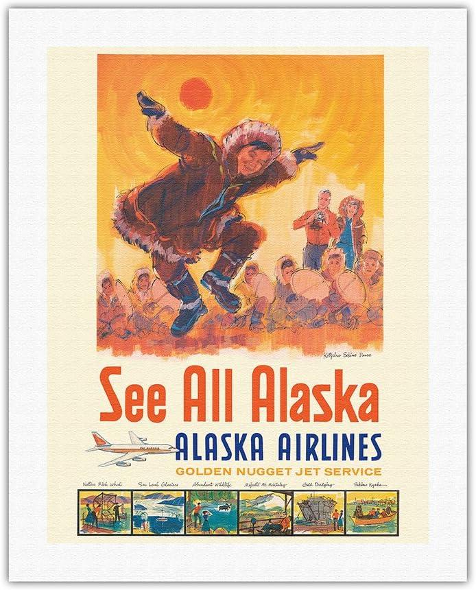 See All 2021 Product Alaska - Airlines Vinta Eskimo Kotzebue Dance
