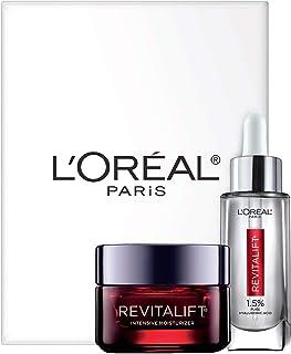 سری مراقبت از پوست L'Oreal Paris Revitalift Hyitaluronic Acid Serial Face و Triple Power Moisturizer ضد پیری ، 1 کیت