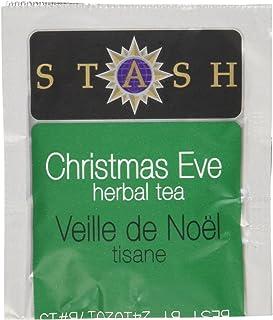 Stash Tea Christmas Eve Herbal Tea 100 Count Tea Bags in Foil (packaging may vary) Individual Spiced Herbal Tea Bags for U...
