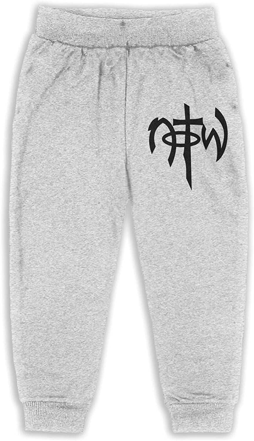 Not of This World Christian Jesus Babies Toddler BoyCotton Jogger Sweatpants 2t-6 (5-6 Years)