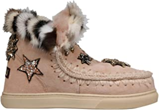 MOU Luxury Fashion Womens FW111006AROBE Pink Ankle Boots | Fall Winter 19