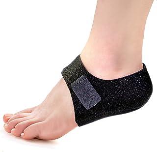 Welnove 2PCS Heel Protectors, Heel Pads, Heel Support for Heel Pain from Plantar Fasciitis - Heel Spur -Tendinitis- ed Hee...