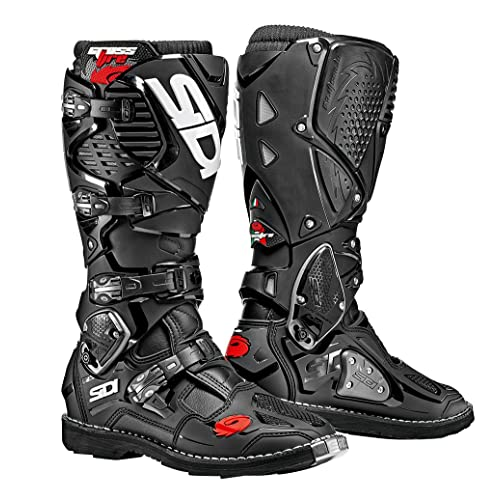 More Size Options Sidi Duna Touring Motorcycle Boots Black US7.5//EU41