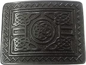 AAR Scottish Highland Swirl Celtic Design Kilt Belt Buckle Jet Black Finish