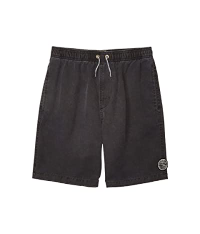 Rip Curl Kids Bondi Pigment Volley Boardshorts (Big Kids) (Black) Boy