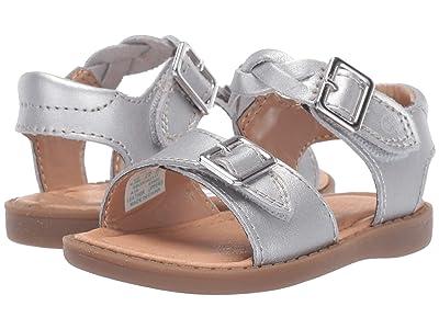 Stride Rite SR Naomi (Toddler) (Silver) Girls Shoes