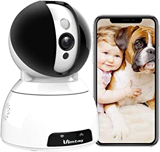 Security Camera,Vimtag Wireless Home Security Camera 1080P Pan/Tilt/Zoom WiFi Home Indoor Smart Camera for Baby/Pet Motion...