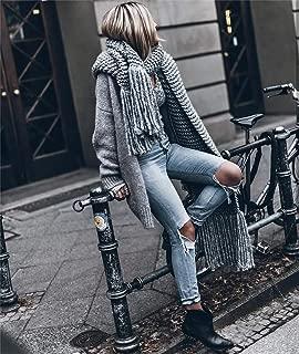 tassel scarf knitting pattern