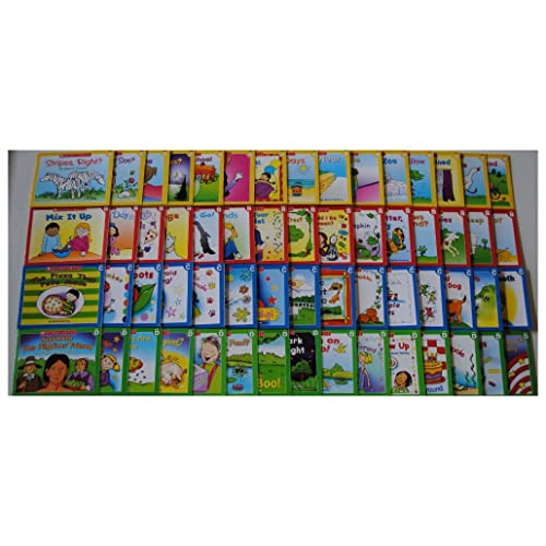 NEW 60 Easy Leveled Books Lot Homeschool Preschool Kindergarten First Grade 1