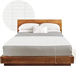 Earthing Half Sheet - For Any Size Bed inc Cable Connection Plus A FREE US Socket Tester and Earthing Audio Book. Grounding Sheet For Better Sleep & More Energy. Comes With 1 Year