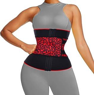 مدرب الخصر للمرأة المشد الصلب مع ملصق الخصر المدرب النيوبرين ملابس داخلية الخصر المشذب للتمرين