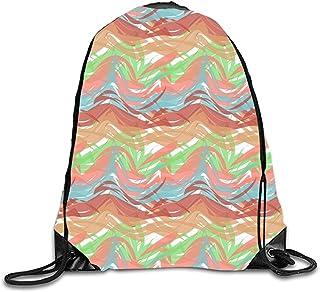 uykjuykj Bolsos De Gimnasio,Mochilas,I Love Volleyball For Volleyball Fans Sports Drawstring Backpack Bags Lightweight Unique 17x14 IN