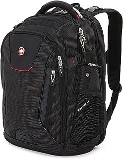 SWISSGEAR 5358 USB SCANSMART Backpack - Black/RED