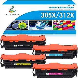 True Image Compatible Toner Cartridge Replacement for HP 305X 305A 312X 312A CE410X CE410A for HP Laserjet Pro 400 M451dn ...