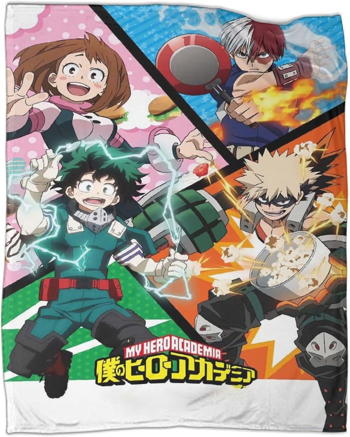 Anime My Hero Academia Deku Katsuki Todor Bakugou Some reservation Uraraka Don't miss the campaign Ochaco