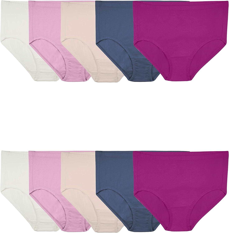 Fruit of the Loom Women's Breathable Underwear (Regular & Plus Size)